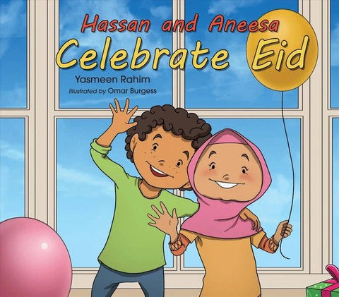 Hassan and Aneesa Celebrate Eid