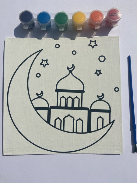 Paint a Masjid Canvas