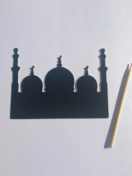 Masjid Scratch Art Fun