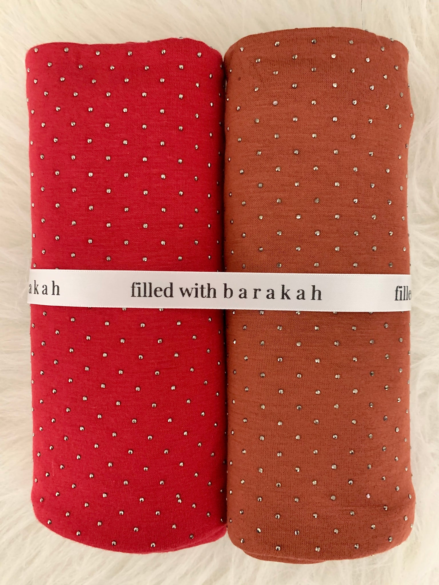 Rustic Red Hijaab Duo