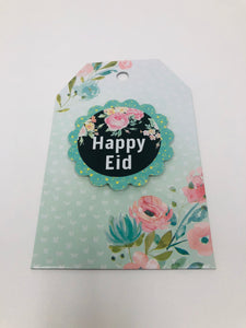 Eid Gift Tags (Green) (4 Tags)