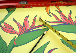 Taking a chance leads to big rewards | Creating wallpaper for the Surfjack Hotel
