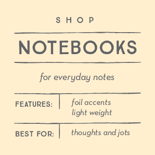Shop Notebooks & Journals