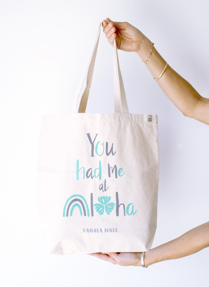 You had me at aloha tote bag 2
