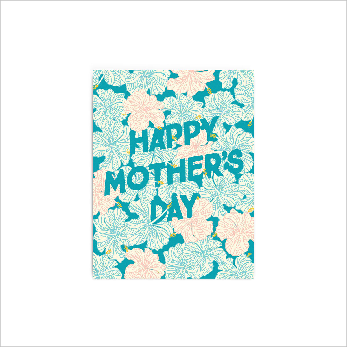 Mother's Day Hibiscus Card