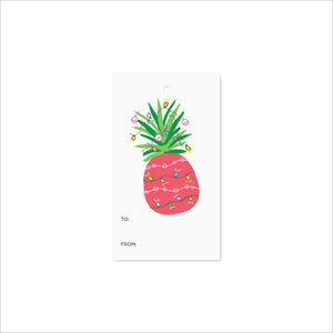 Pineapple Tree Gift Tags