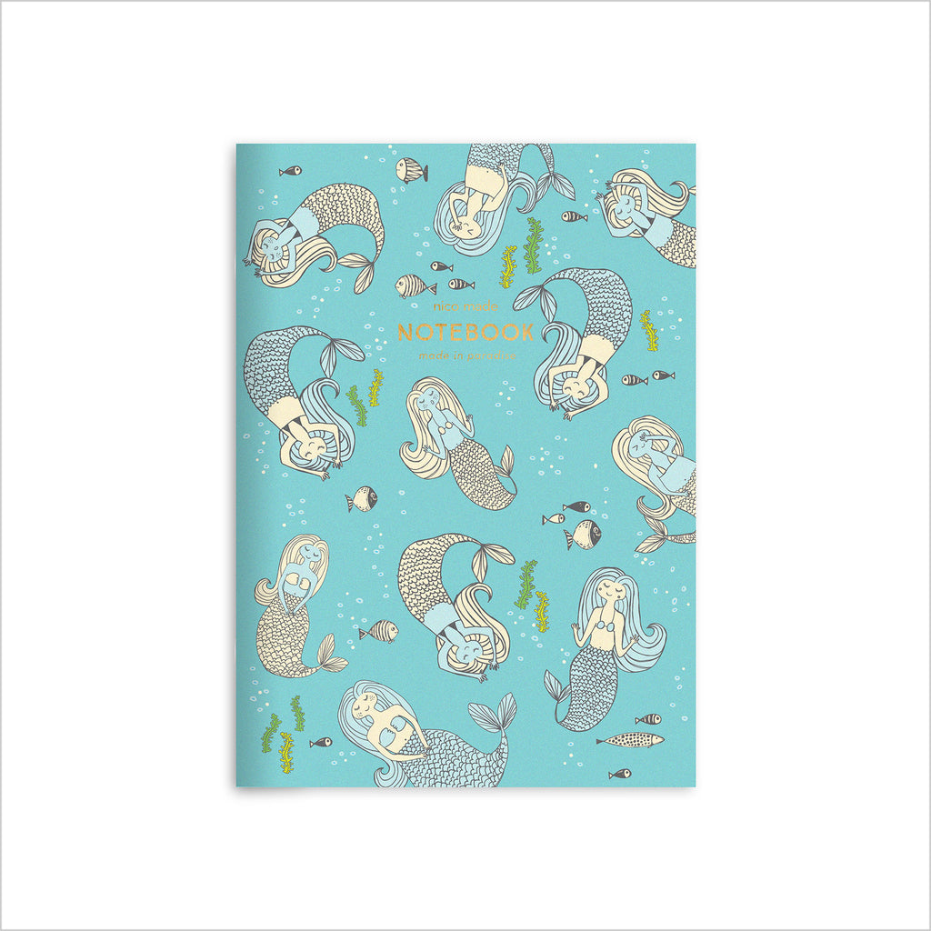 Mermaids Notebook