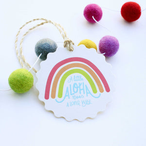 A Little Aloha Goes A Long Way Ornament