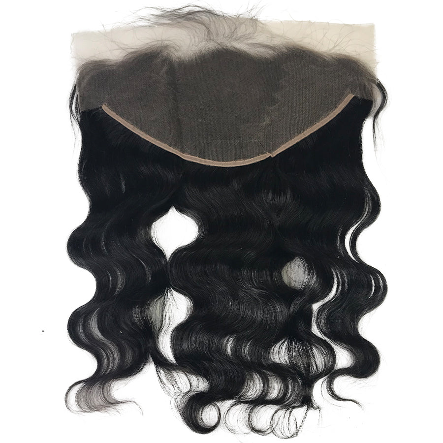 "Transparent Swiss Lace Frontals Virgin 13""x6""  Body Wave"