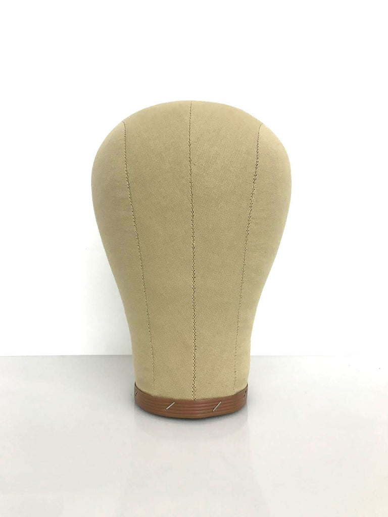 Canvas Wig Block Mannequin Head Display - eHair Outlet