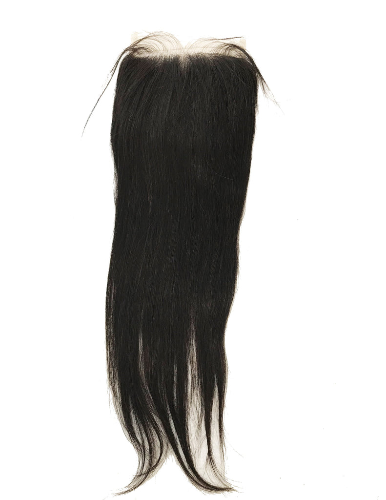 "VIRGIN STRAIGHT LACE CLOSURE 5""X5"" - eHair Outlet"