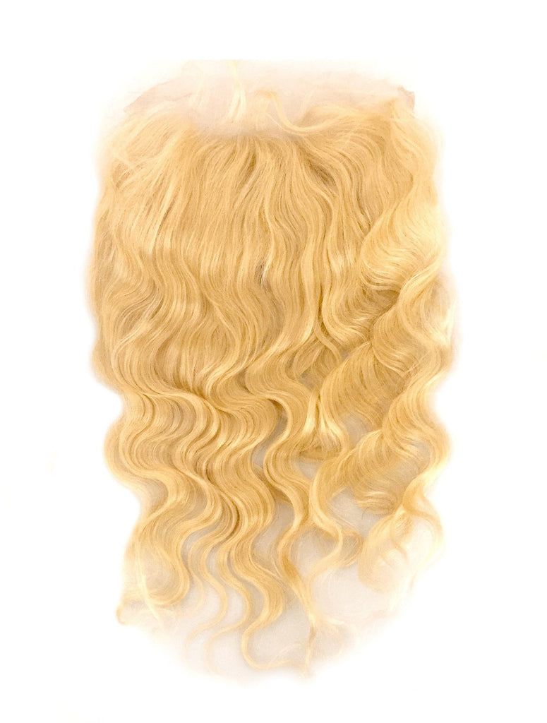 360 Lace Frontal Body Wave Virgin Human Hair Platinum Blonde - eHair Outlet