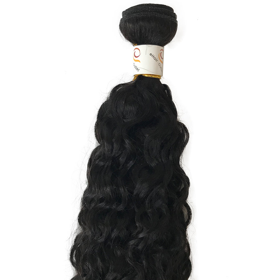 8A Malaysian Water Wave Human Hair Extension