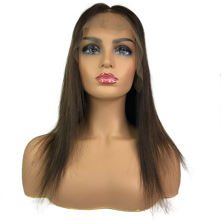Remy Straight Lace Frontal Wig  #2/6/2