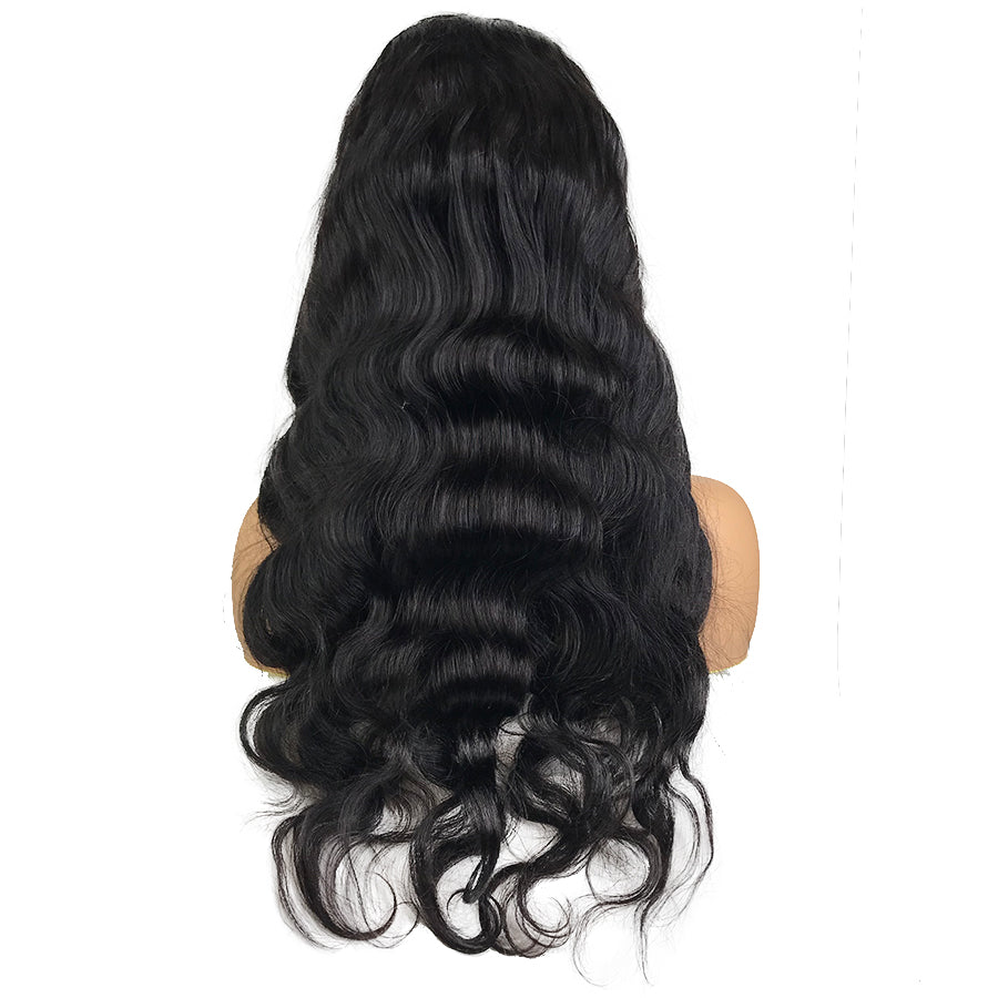 8A Malaysian Body Wave U Part Human Hair Wig