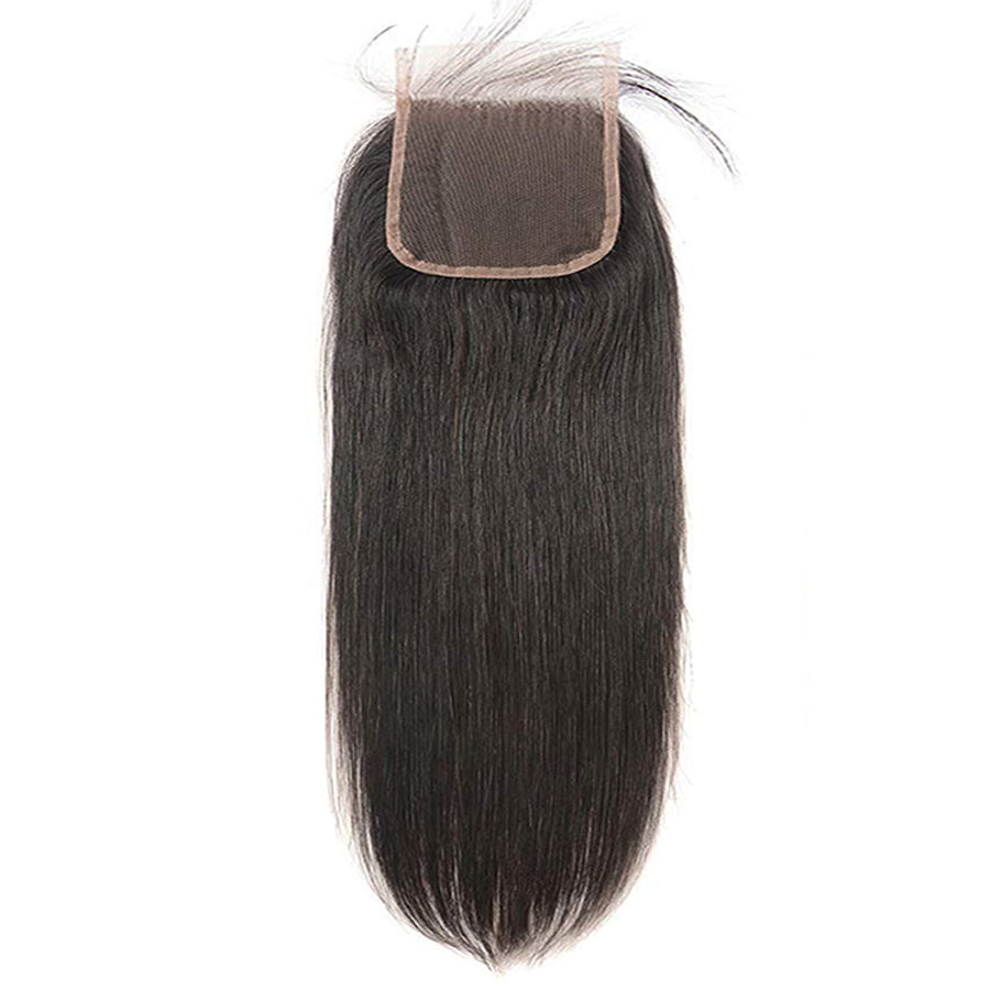 "HD Virgin Straight Lace Closure 5""x5"""