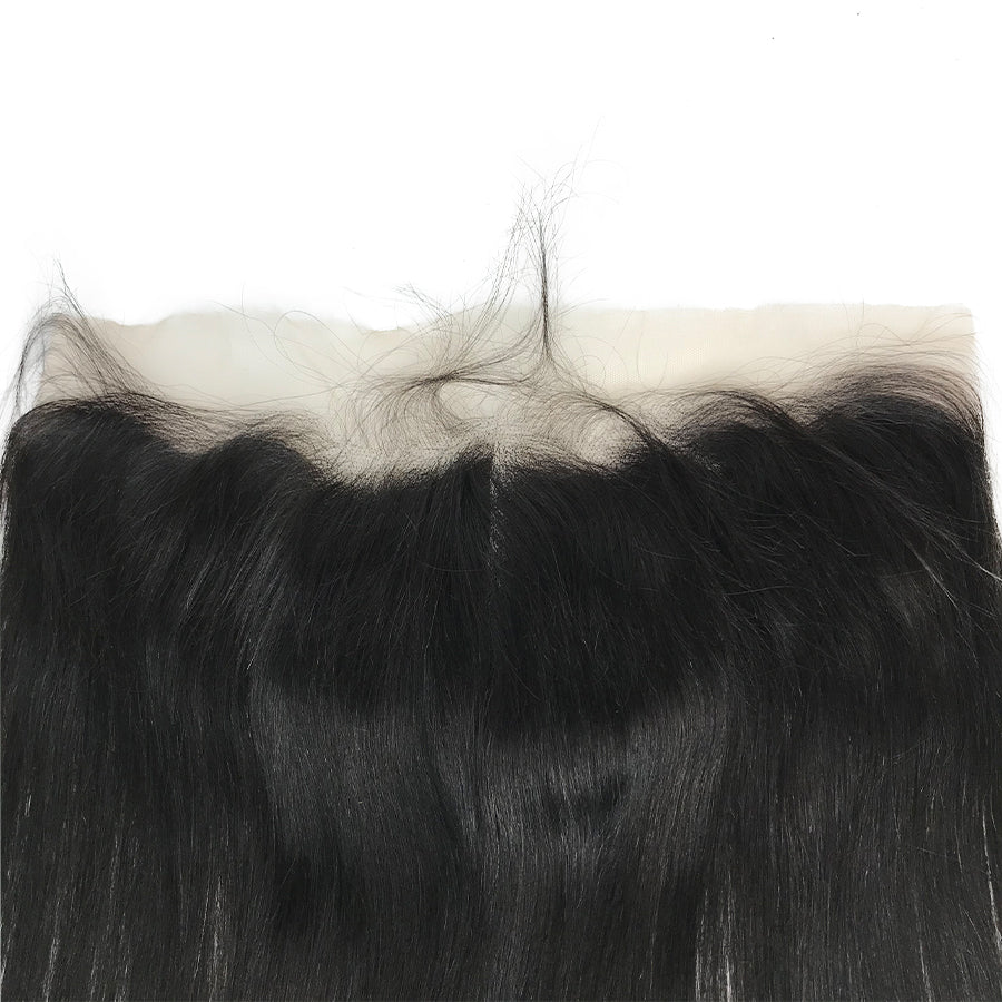 "Swiss Transparent Remy 13""x4"" Straight  Lace Frontal"