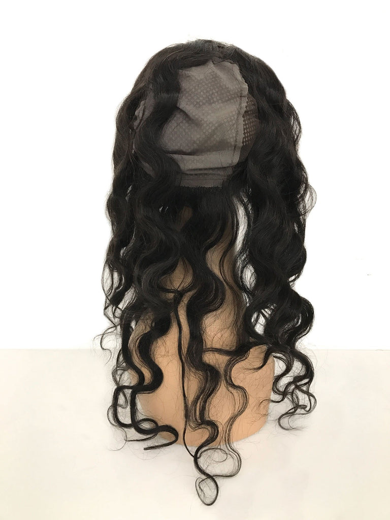 Remy Lace Frontal w/ Cap Body Wave Human Hair - eHair Outlet