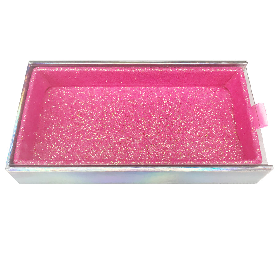 Pull-Out Empty Eyelash Box Big Gift Box Full Window/ 2 Colors Available