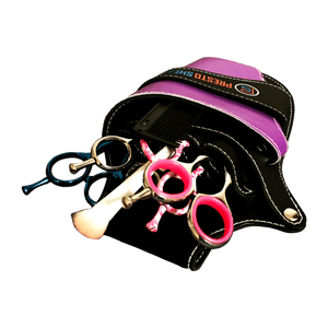 Small Black/Purple Holster by Presto Shears