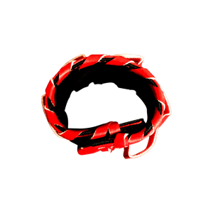Red Magnetic Shears Wristband