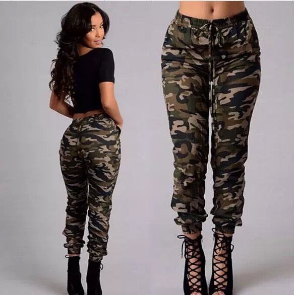 """Cute in Camo"" pants"