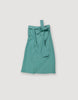 Light Green Turquoise Linen Wrap Skirt