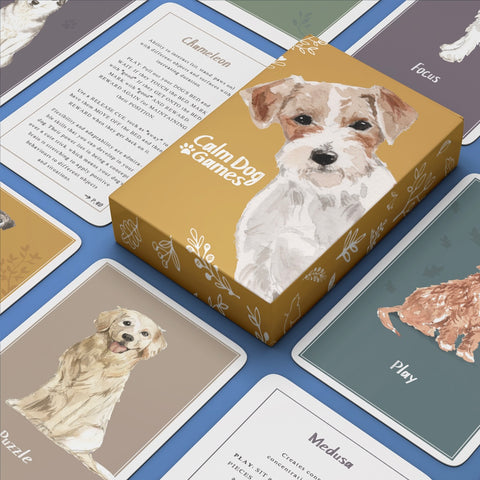 CALM DOG GAMES ENRICHMENT CARDS FOR DOGS