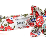 Liberty of London Pretty Do Collar Flower Moo Moo & Bear