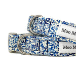 Katie and Millie handmade dog collar from Liberty of London