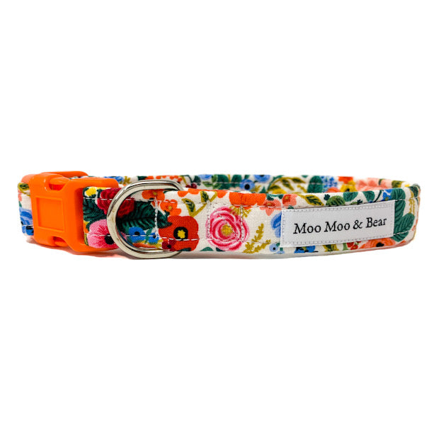 'WILDWOOD' DOG COLLAR AND OPTIONAL LEAD
