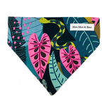 'FIERCE' DOG BANDANA IN JUNGLE PRINT