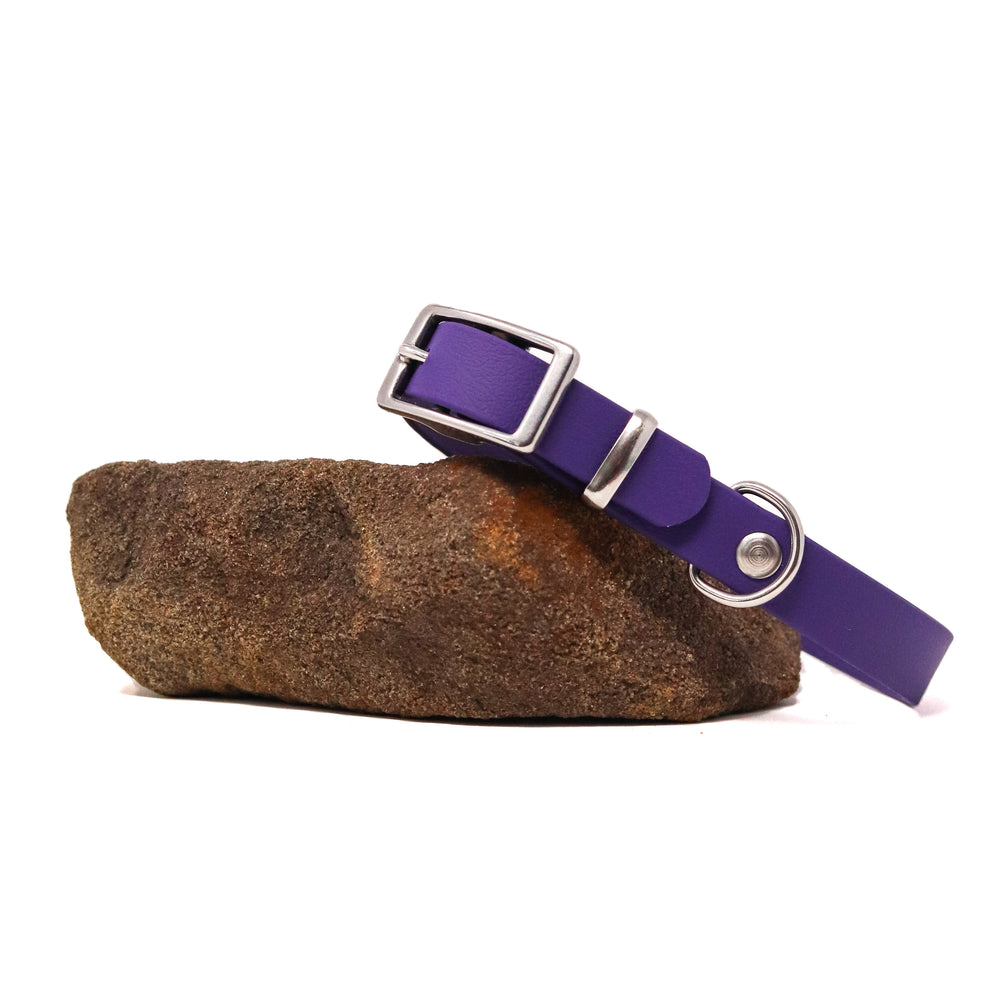 THE MOORLAND COLLECTION GENUINE BIOTHANE® DOG COLLAR -1ST EDITION - VIOLET