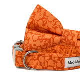 LIBERTY OF LONDON WILTSHIRE ORANGE DOG BOW TIE
