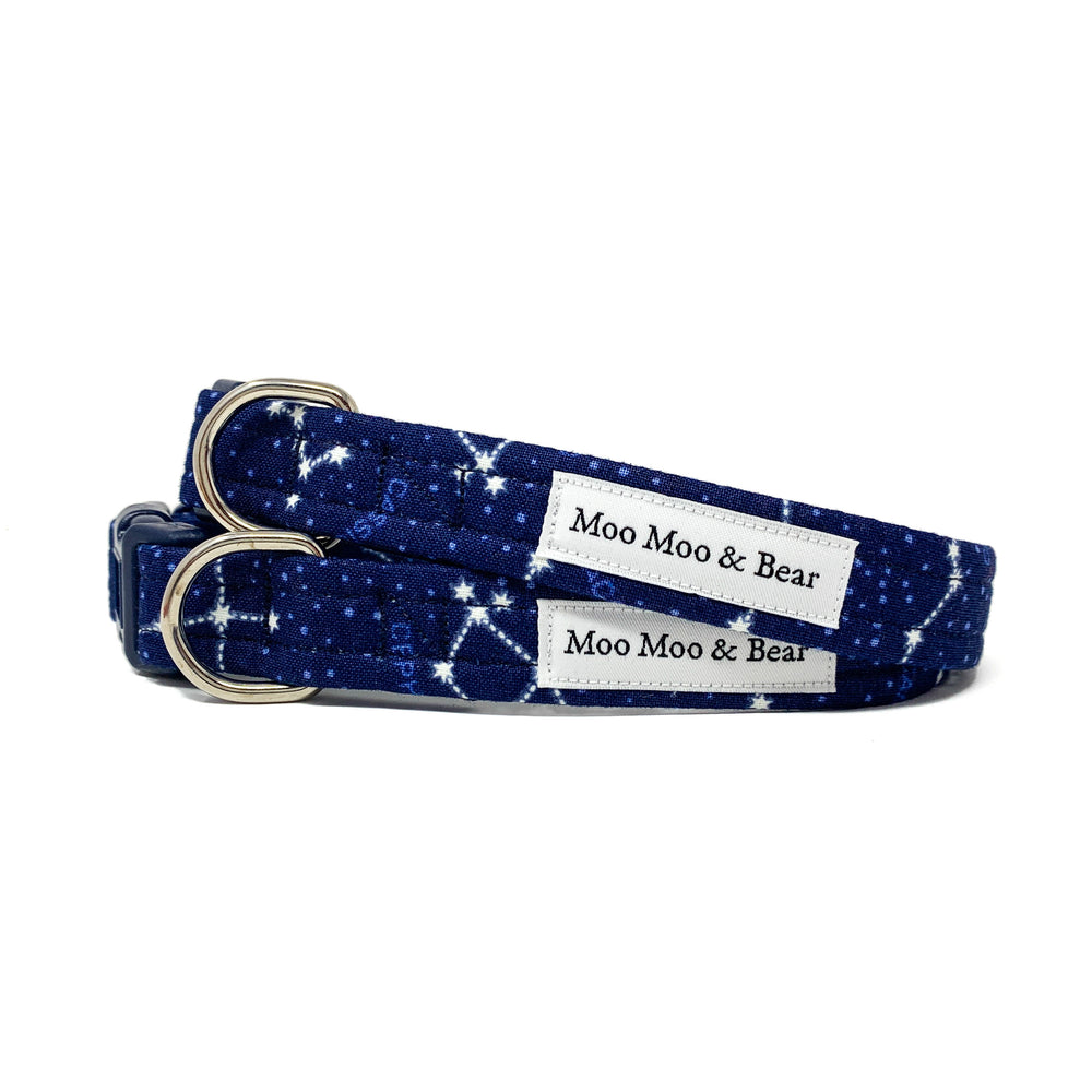 'STAR GAZER' DOG COLLAR AND OPTIONAL LEAD