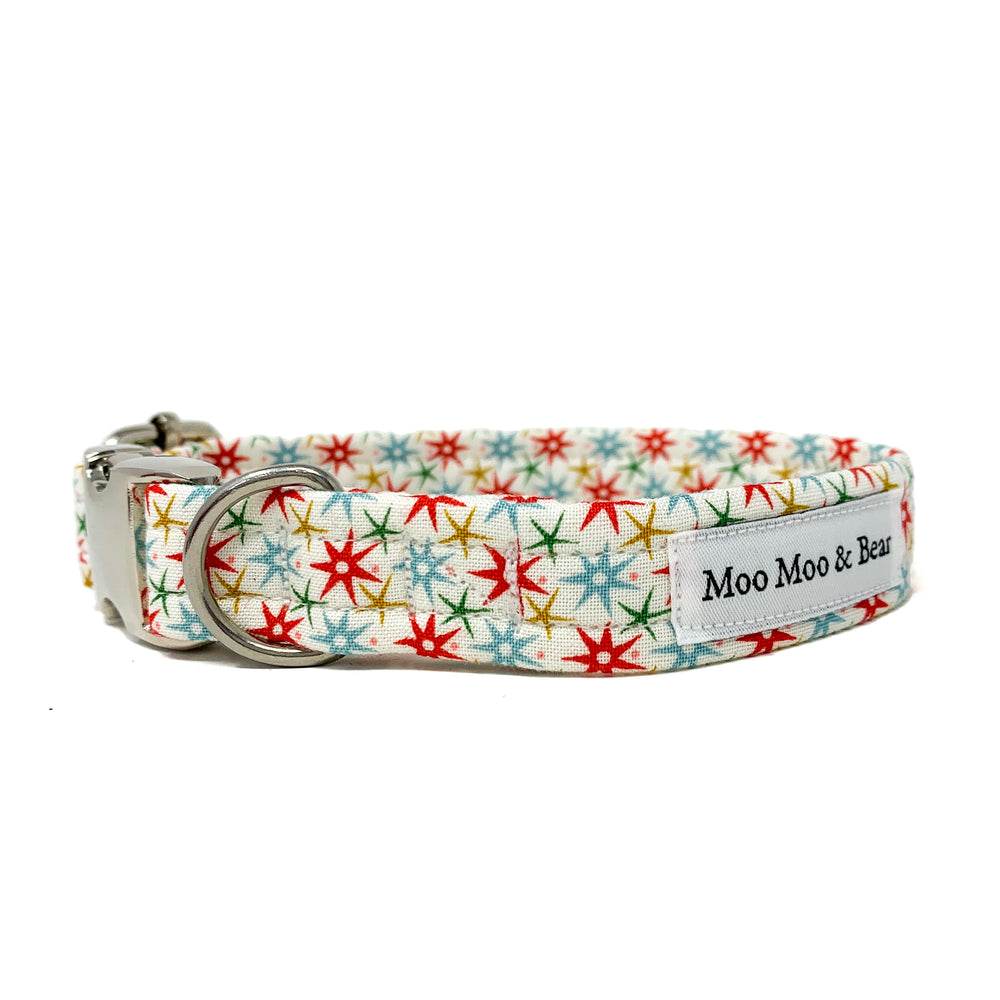 CHRISTMAS AT LIBERTY FESTIVE WISH DOG COLLAR AND OPTIONAL LEAD