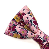 LIBERTY OF LONDON PRIMROSE POSY DOG BOW TIE
