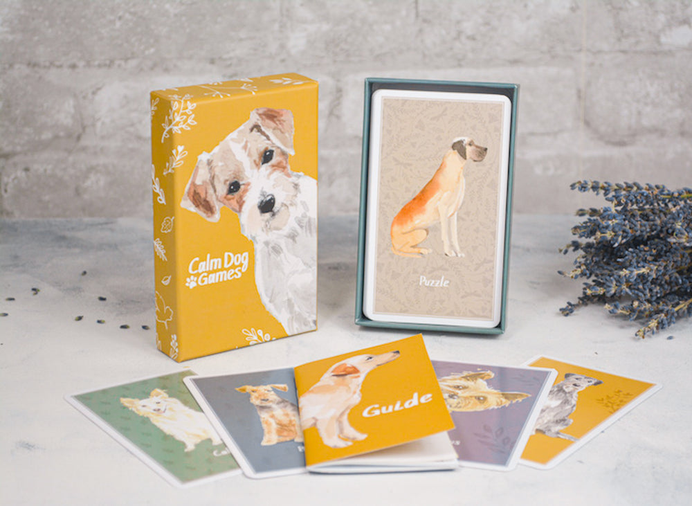 CALM DOG GAMES DECK OF CARDS FOR DOG ENRICHMENT
