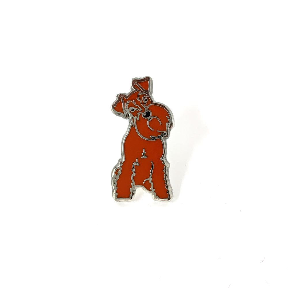 SCHNAUZERFEST ENAMEL PIN BADGE