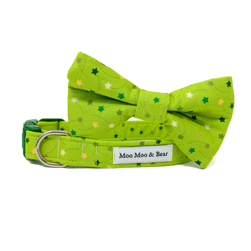 'SHOOTING STARS' DOG BOW TIE