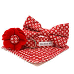 'NORDIC' RED DOG BOW TIE