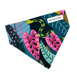 fierce bold jungle print bandana
