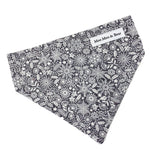 'SCANDI WINTER' GREY DOG BANDANA