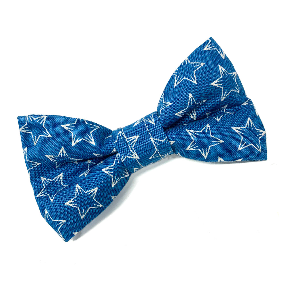 'BOBBY DAZZLER' BLUE DOG BOW TIE