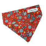 CHRISTMAS AT LIBERTY FESTIVE JOY RED DOG BANDANA