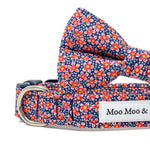 Liberty of London Floral dog collar bow