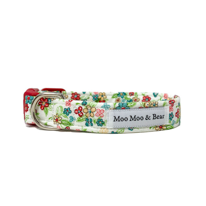 'KATY' DOG COLLAR AND OPTIONAL LEAD