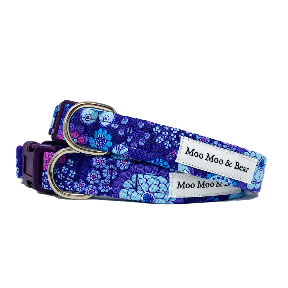 'FLOWER CHILD' DOG COLLAR AND OPTIONAL LEAD