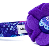'FLOWER CHILD' DOG COLLAR FELT FLOWER