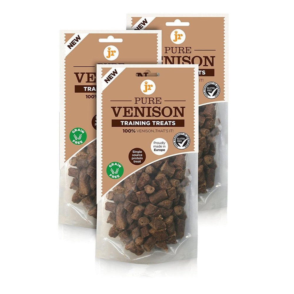 JR PET PRODUCTS PURE TRAINING TREATS - VENISON